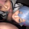 美少女メイド姉妹レ●&ラ●×アナル&マ●コ3穴中出しファック×10連続大量ザーメンぶっかけ のぞみ&あずさ